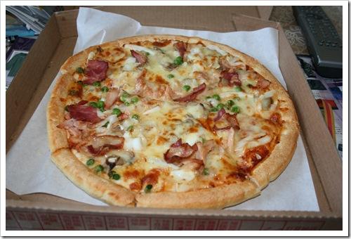 拿坡里-義式海陸豪華披薩 開箱