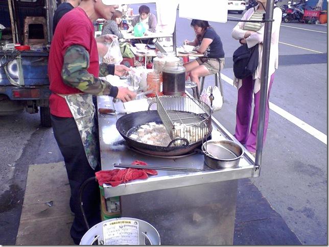 永康大灣的臭豆腐