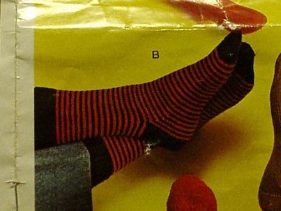 Strippy socks!