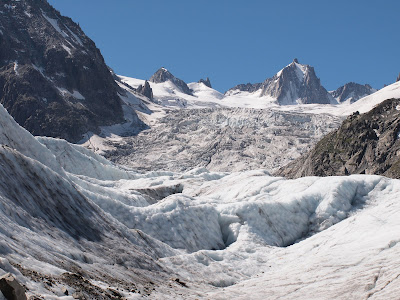 Final de la glacera Mer de Glace