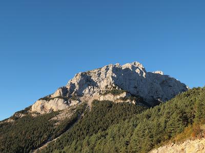 Cresta Nord del Pedraforca vista des del Refugi