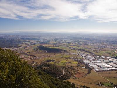 Vista cap al Baix Berguedà