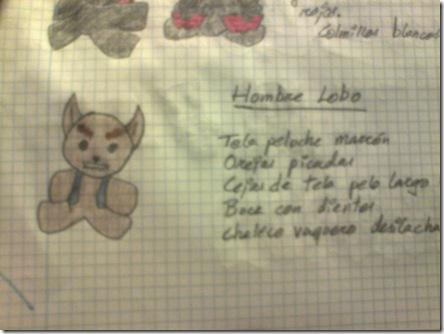Pregunta 3 - Boceto Hombre Lobo