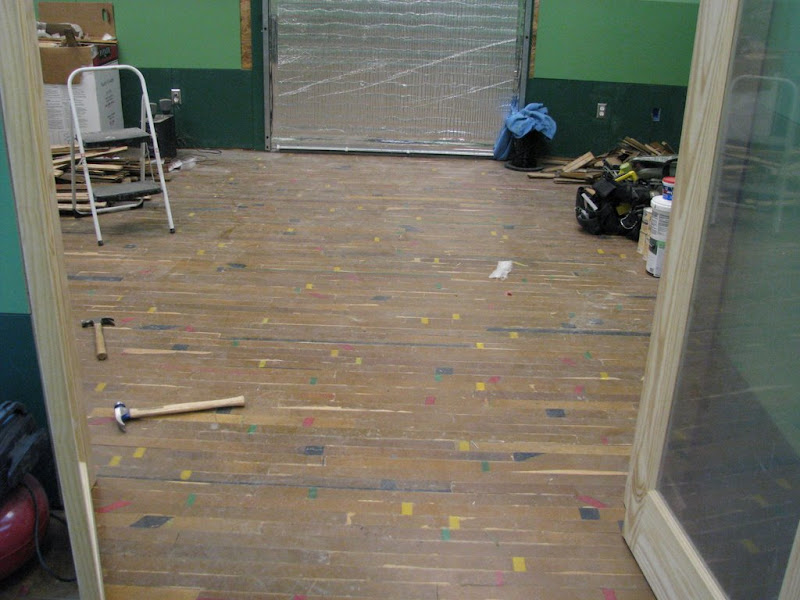 Recycled Gymnasium Flooring