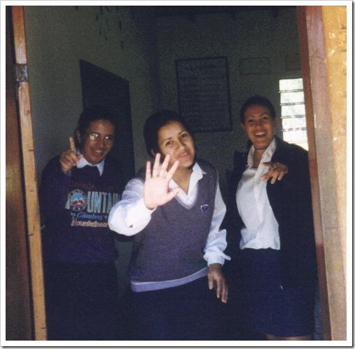 Paraguay schoolmates