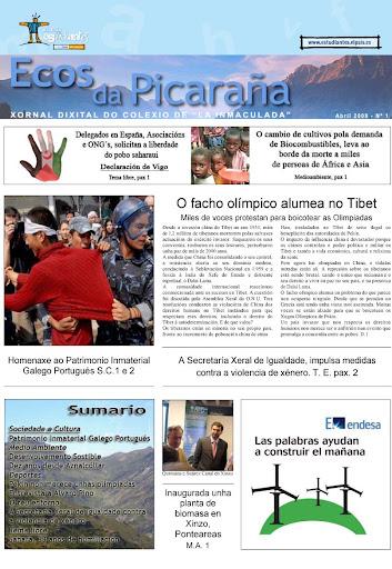 Ecos da Picaraña nº 1. Abril 2008.