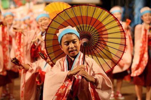 本祭1日目 高知城演舞場 5   D-11937