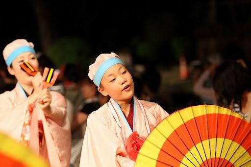 本祭1日目 高知城演舞場 8   D-11949