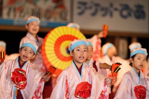 本祭1日目 高知城演舞場 17   D-11977