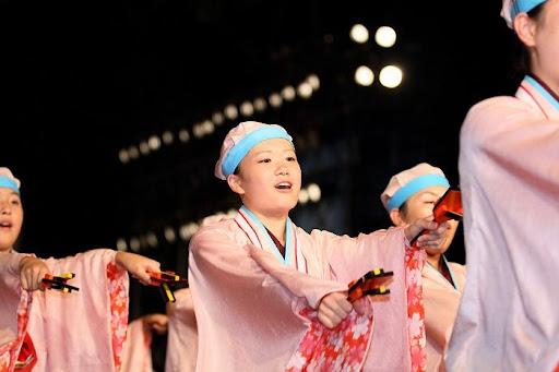 本祭1日目 高知城演舞場 26   D-11999