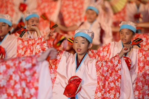 本祭1日目 高知城演舞場 33   D-12010