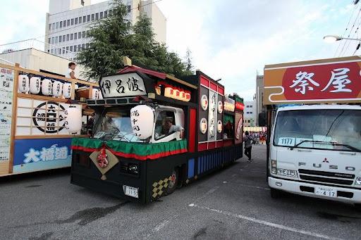 本祭1日目 地方車集合 10        D-13009