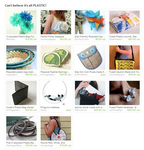 Etsy-Treasury-Plastic
