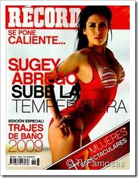 Sugey Ábrego Portada Record Especial Trajes de Baño 2009
