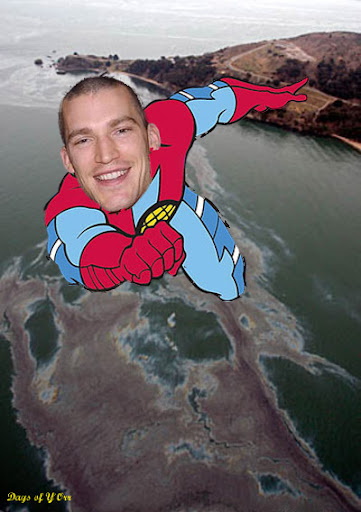 Andrew Ference Captain Planet