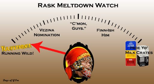Tuukka Rask Meltdown Watch