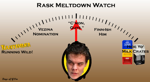 Tuukka Rask will start against the Sabres