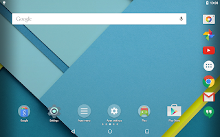 Screenshot of Apex Launcher