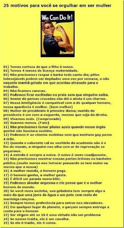 25mulheres