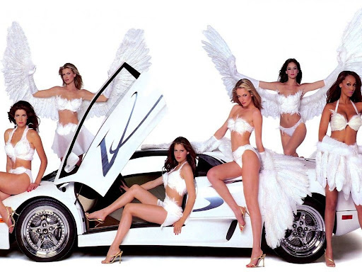 Wallpapers Cool Cars and Girls. Miss Tuning Cool Cars Kalender 2007