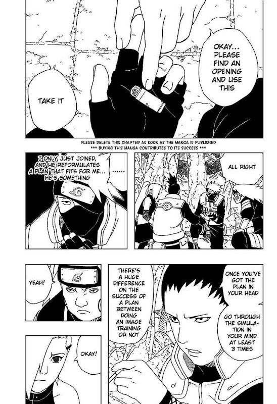 Naruto Shippuden Manga Chapter 332 - Image 03