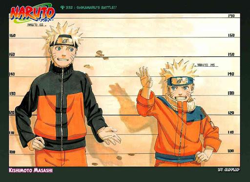 Naruto Shippuden Manga Chapter 332 - Image 01-02