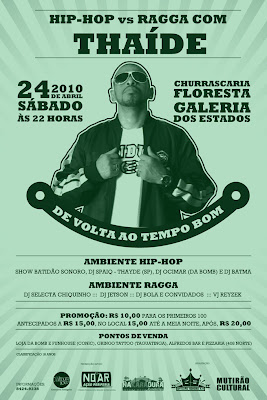HIPHOP Vs RAGGA COM THAIDE!!!