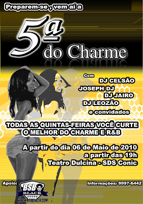 5 DO CHARME - TEATRO DULCINA