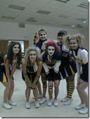 zombie cheerleaders