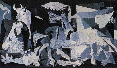 detail from Guernica, 1937, by Pablo Picasso