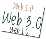 Web1.0 vs Web2.0 vs Web3.0