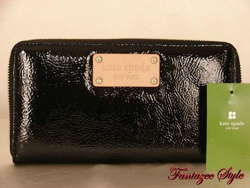 Kate Spade Meribel Neda Leather Wallet Black