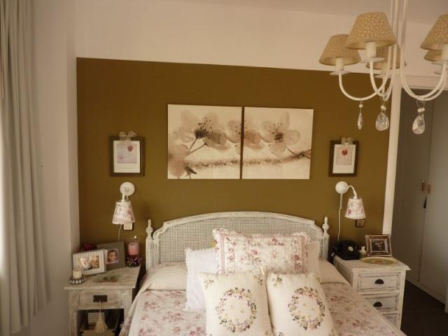 Hogar dulce hogar el dormitorio rom ntico de susana - Ikea cuadros grandes ...
