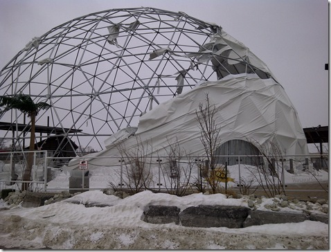 Dome Damage 021911