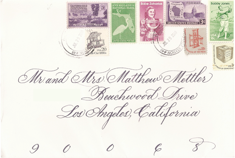 With The Vintage Stamps On It Such As One Belowbut I Feel Like Its Not Possible Has Anyone Done This Or Gotten An Envelope Cool