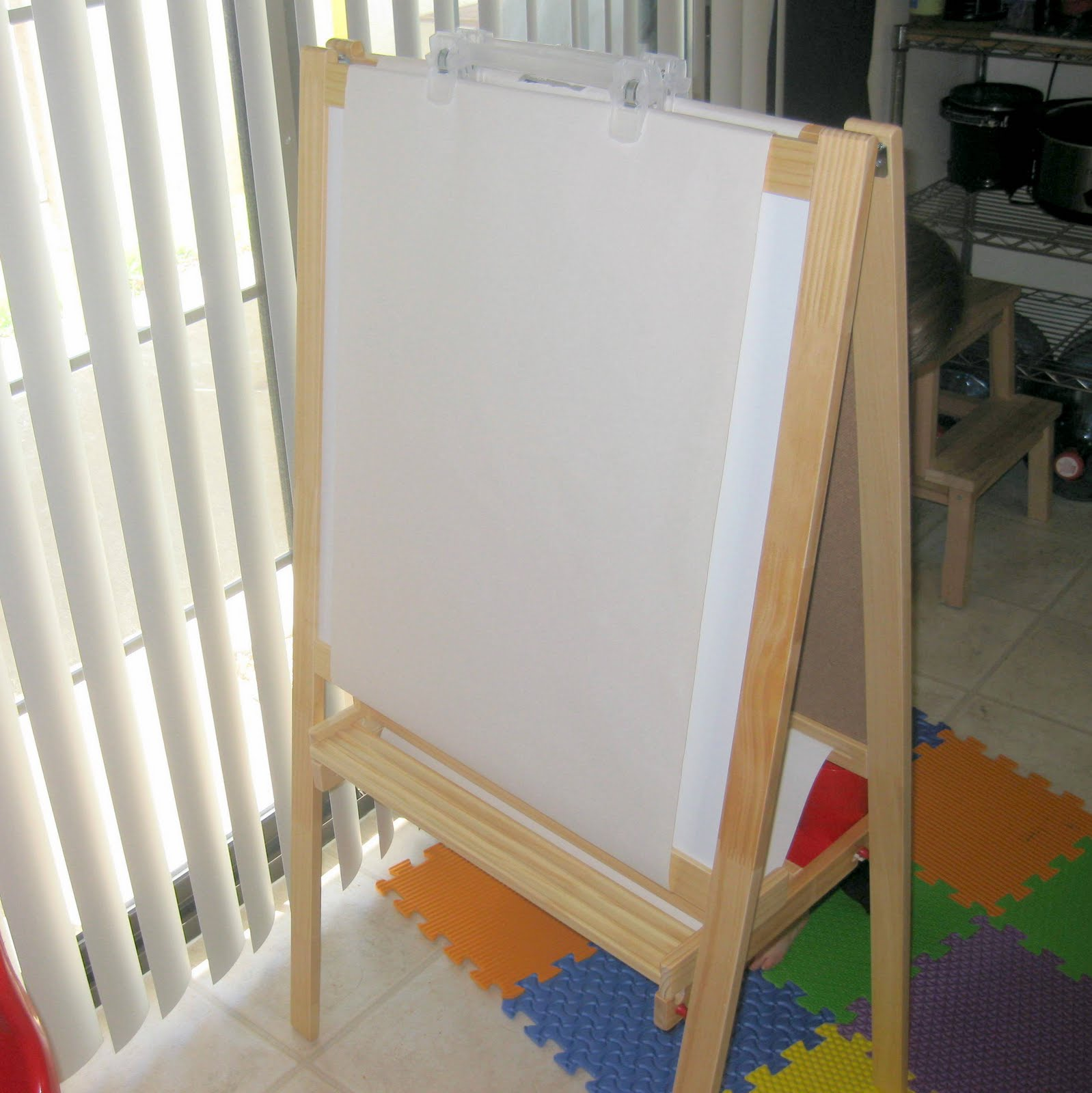 By My Own Hand Ikea Mala Easel Hacked For Two