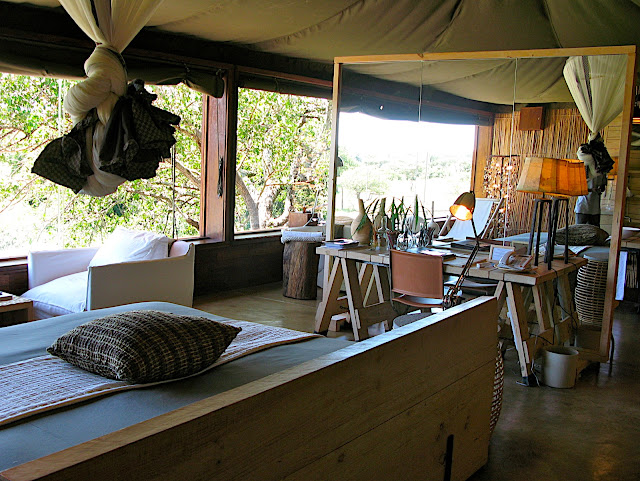 Singita Faru Faru Suite Interior.