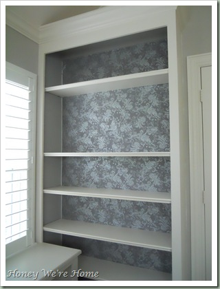 Fabric Bookcase finish 010
