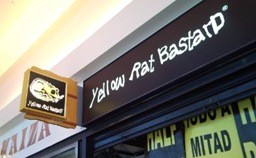 Interestingly-named shop - Yellow Rat Bastard