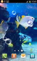 Screenshot of AQUARIUM HD LIVE WALLPAPER