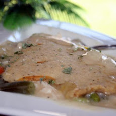 Chicken Pot Pie With Celery Seed Pastry