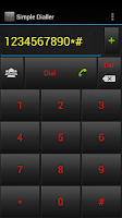 Screenshot of Simple Dialler