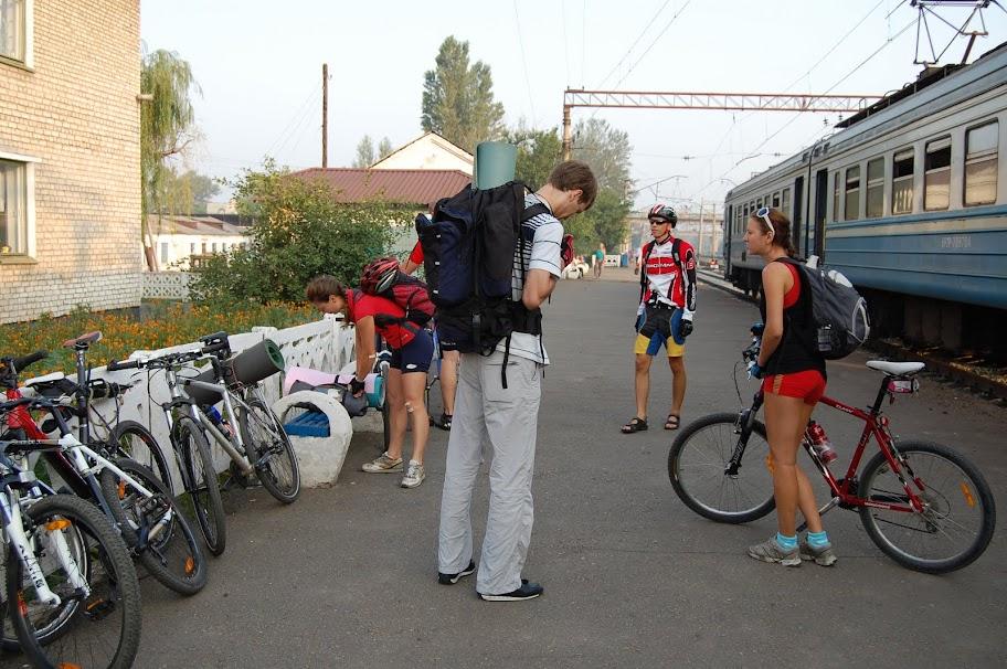 платформа на станции изюм