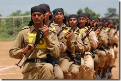 Tripura state rifle Jawans NSG commando training