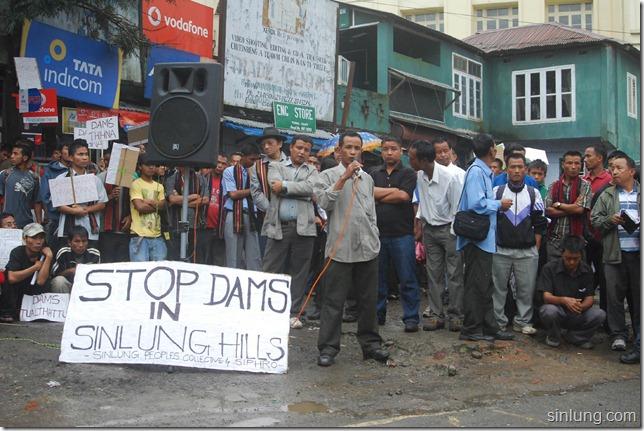 SHDC Mizoram Anti Dam Protest 12