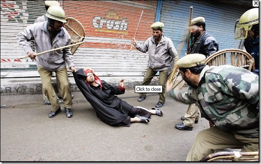 violation of human rights in police