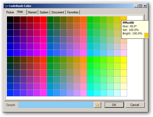 ColorSwatchWeb