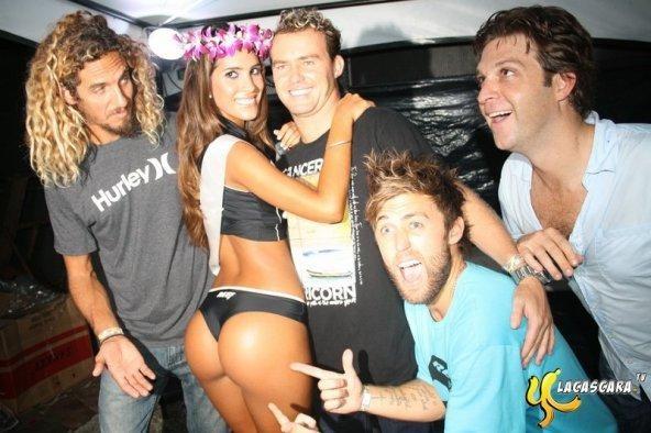 Culito: Vanessa Tello quedó segunda en World Miss Reef 2010