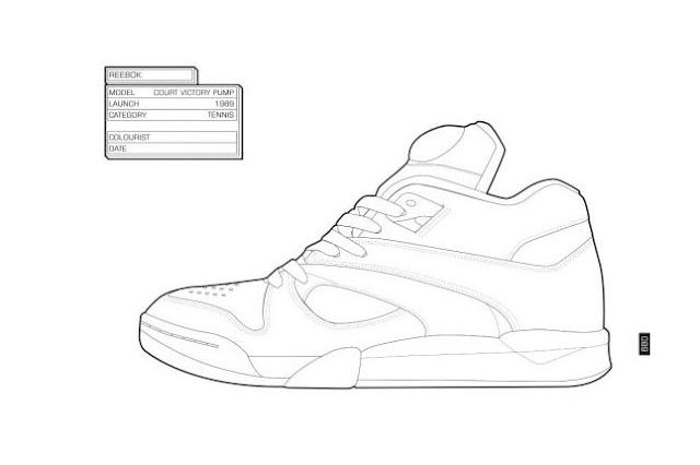 Things We\'re Diggin\': Sneaker Coloring Book ← bifuteki