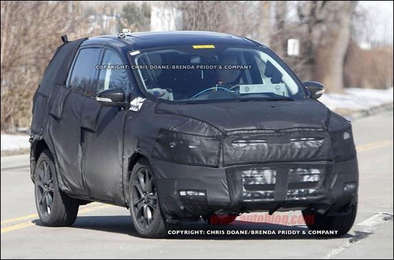 Novo Ford Kuga(Vertrek) é flagrado nos EUA